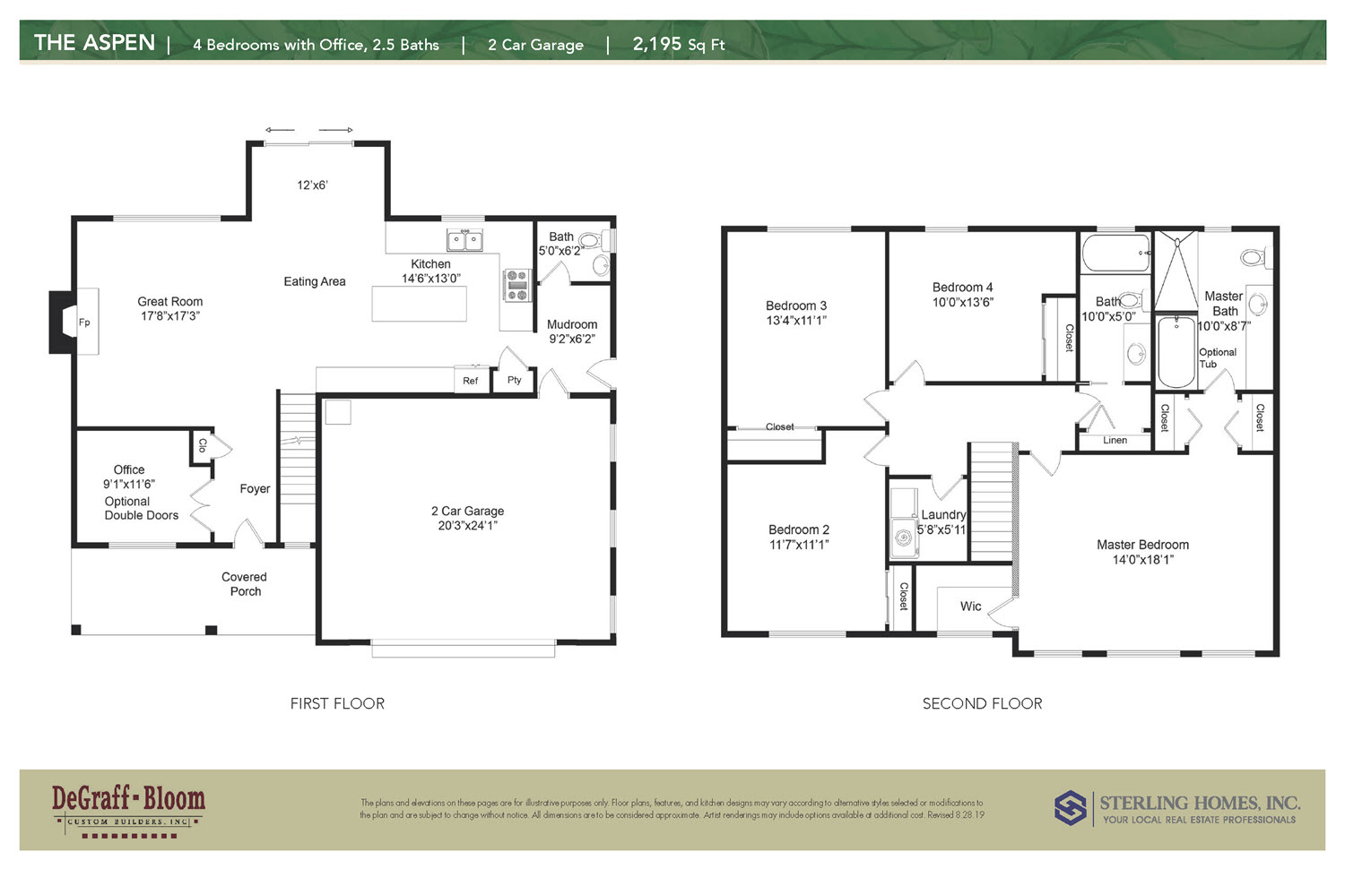 The Aspen Floorplan