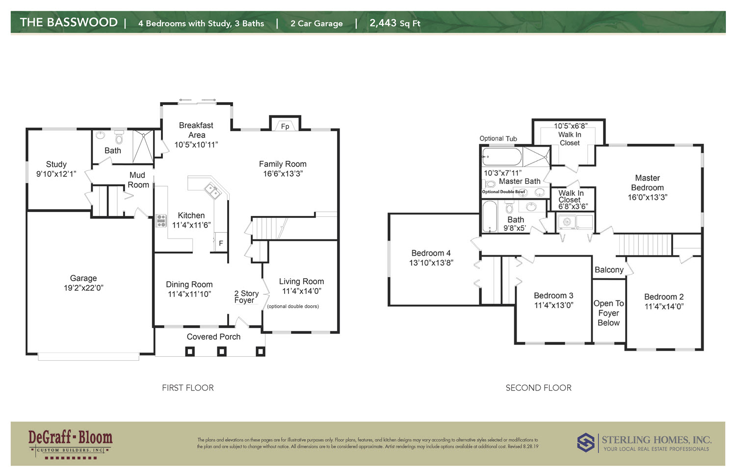 The Basswood Floorplan