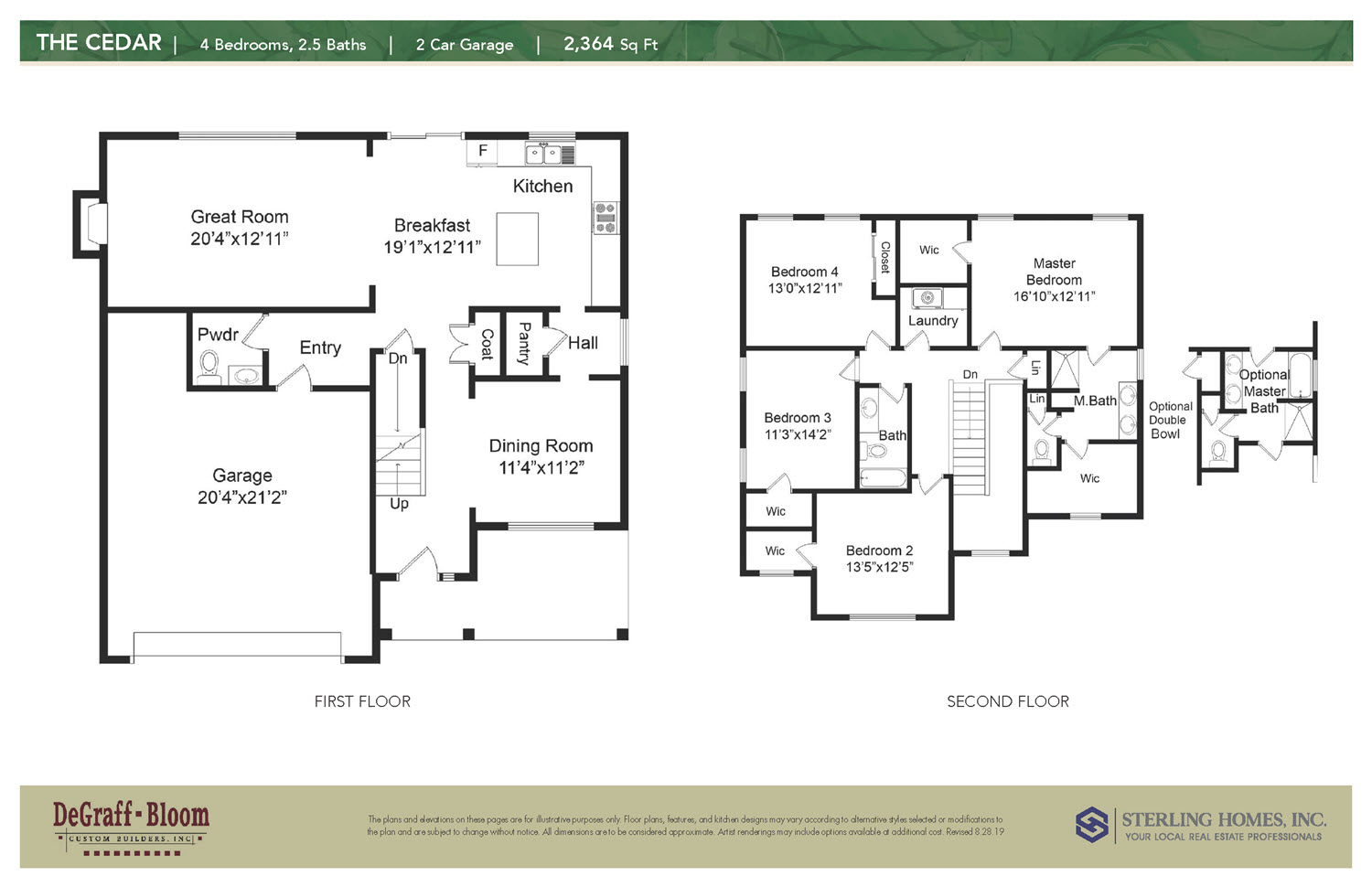 The Cedar Floorplan