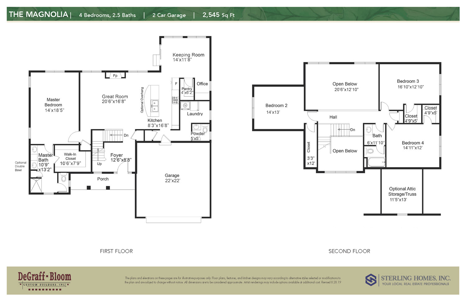 The Magnolia Floorplan