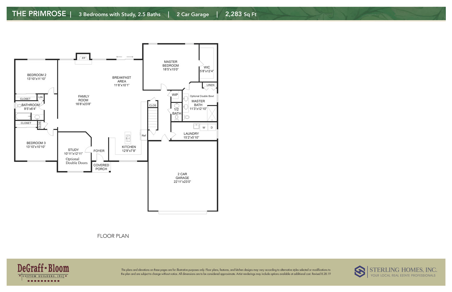 The Primrose Floorplan